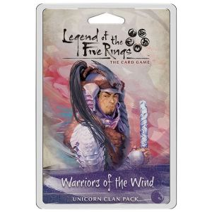Legend of the Five Rings:  The Card Game -  Warriors of the Wind Unicorn Clan Pack